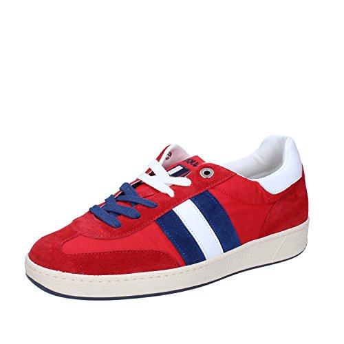 D'Acquasparta Sneaker Uomo Pelle Scamosciata Rosso 39 EU