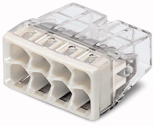 Wago WAG2273BL1010er-Packung Universal-Verbindungsdosenklemme für alle Leiter Typ 2273Mini/8Eingänge