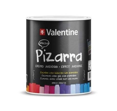 Pintura Efecto Pizarra Negra 750ml