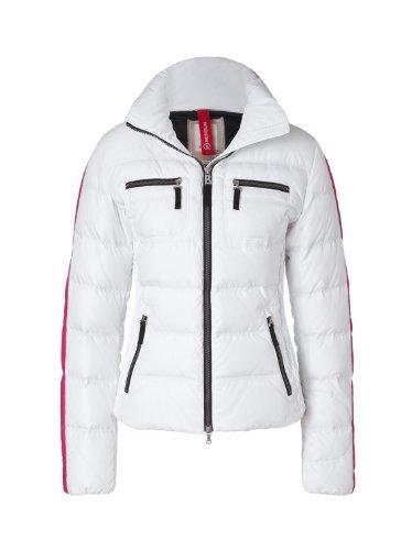 Bogner Fire + Ice Damen Jacke Leony-D, white, 44, 3479-4012