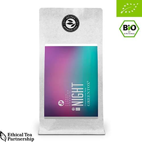 alveus® GreenTox® BIO (Night, ThéVertFruité, goût CocoCitron, sac 100g)