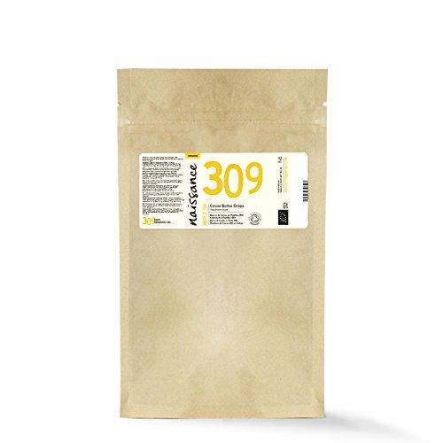 Naissance Manteca de Cacao BIO en Gotas - Certificado Ecológico - 100% Puro - 200g