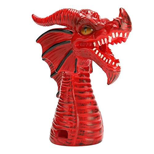 Accessoire de vapeur d'inverseur pour Instant Pot, accessoires de dégagement de vapeur Dragon cracheur de feu fournitures de cuisine (Red)