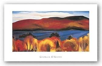 Image Conscious Lake George, Autumn, 1927 by Georgia O'Keeffe 32