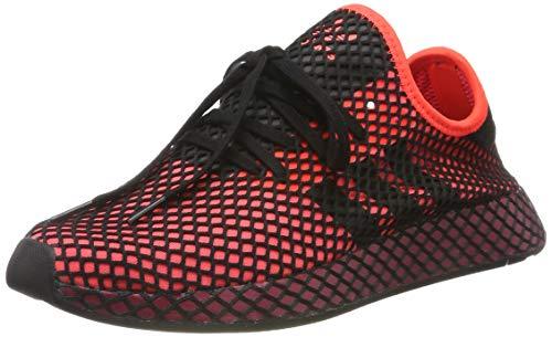 adidas Deerupt Runner, Scarpe da Ginnastica Uomo, Rosso (Solar Red/Core Black/Collegiate Burgundy Solar Red/Core Black/Collegiate Burgundy), 44 2/3 EU
