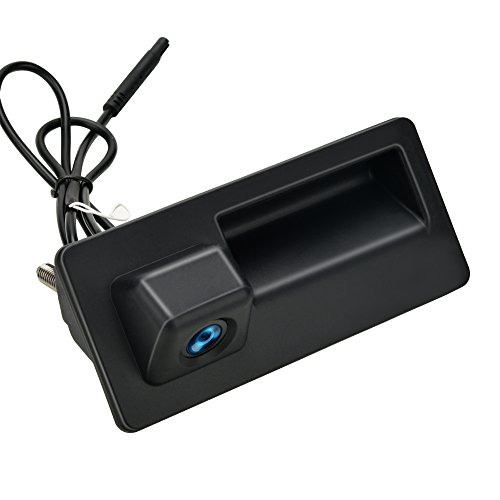 ZHUOHAN Caméra de recul pour Audi A4, A5, S5, Q3, Q5, pour VW Passat, Tiguan, Golf, Touran, Jetta, Sharan, Touareg