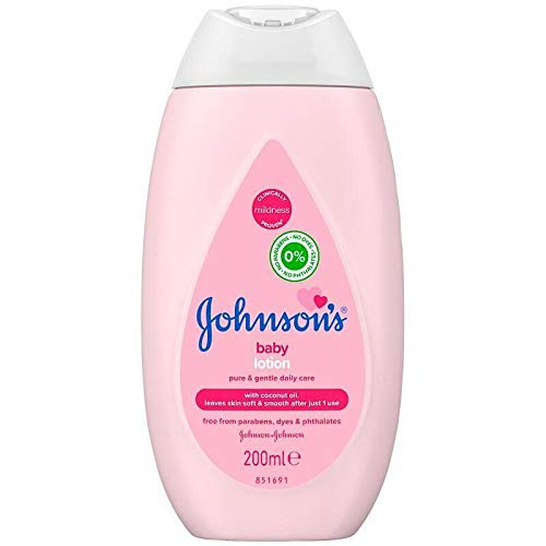 Johnsons Baby Lotion Pink 200ml
