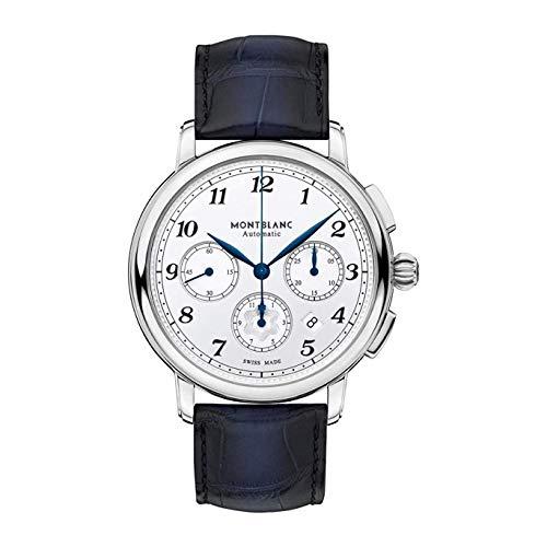 Montblanc Star Legacy Herren-Armbanduhr 42mm Armband Leder Automatik 118514