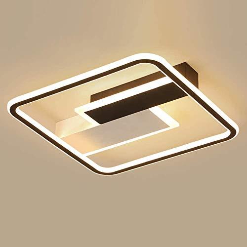 60W LED-Lampe mein Schlafzimmer moderne dimmbare Deckenleuchte Mädchen Kinderzimmer Decke, mit Fernbedienung, ein Wohnzimmer Decke,White