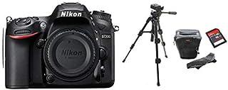 مجموعة مكونة من نيكون D7200 كاميرات بدون عدسة حامل ترايبود ثلاثي دي اس ال ار حقيبة 16 جيجابايت اس دي اتش سي ميموري كارد