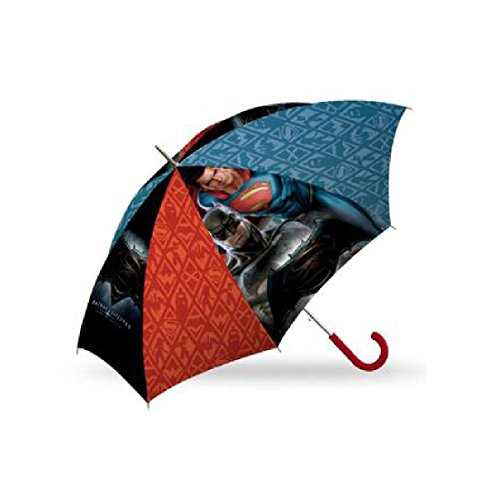 Batman vs Superman by Kids WA16029 Langer automatischer Regenschirm