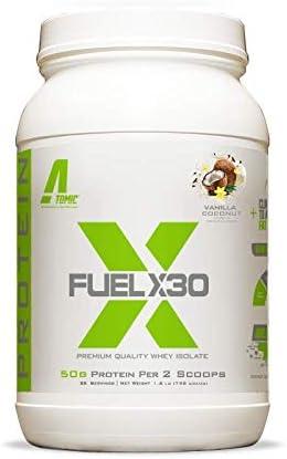 Delicious Vanilla Denver San Francisco Mall Mall Coconut Flavor Fuel Whey X30 Quality Premium
