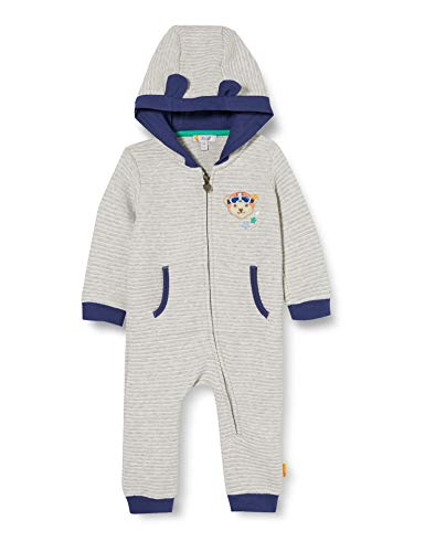 Steiff Baby-Jungen Einteiler Nachthemd, Soft Grey Melange, 050