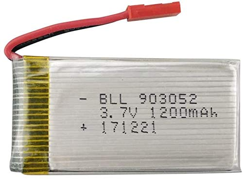 ZYGY 1PCS 3.7V 1200mah Lipo Batteria per huanqi 898B H11D H11C MJX T04 T05 T25 M03 Rc Quadricottero