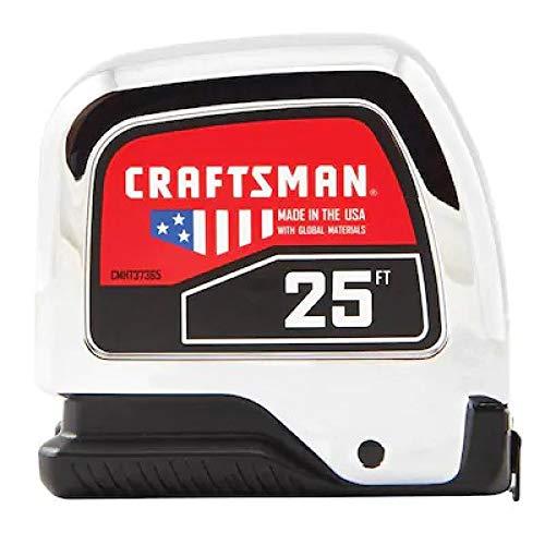 CRAFTSMAN Tape Measure, 25-Foot (CMHT37365S)
