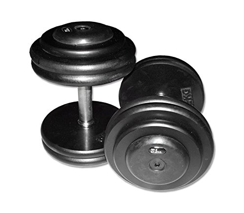 Iron Body CHD ultra-compatto manubri Set in ghisa da 10kg, 1Coppia (Made in Germany.)