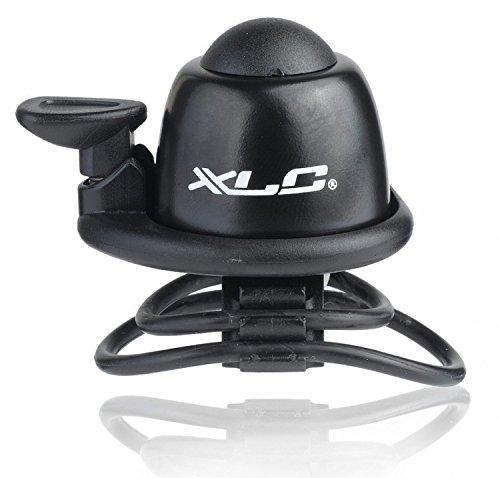 XLC Unisex– Erwachsene Miniglocke DD-M07 durchmesser 22.2-31.8 mm, Schwarz, One Size