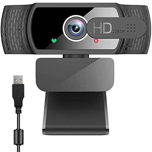 Webcam Pc Full Hd 1080P con Micrófono Marca neefeaer