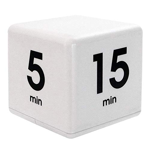 heDIANz,Yoga Timer Kitchen Cooking Cube 5/15/30/60 Minutes Alarm Clock Nap...