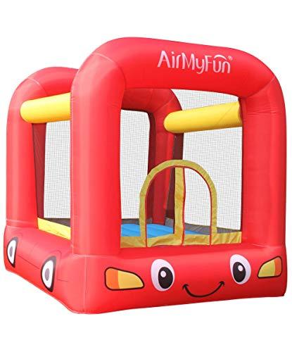 AirMyFun Château Gonflable de Trampoline pour Enfants avec V