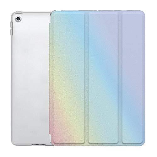 YYLKKB ForiPad Tableta de 9,7 Pulgadas mini5 airbag Transparente Air4 Silicona DIY Carcasa Blanda ipad10.2 Cubierta Protectora-Vistoso_iPad 5/6.a generación (9,7 Pulgadas)