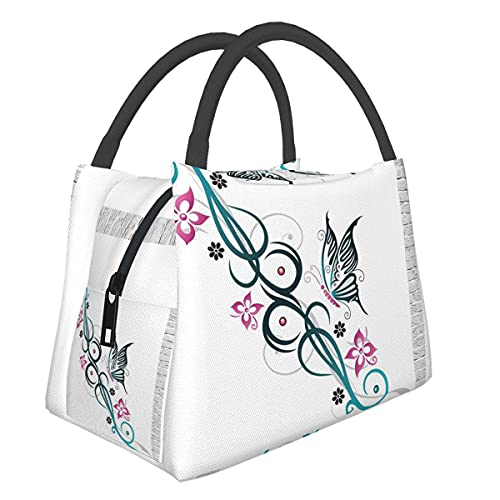 Insulated Neoprene Lunch Bag For Women, Men And Kids, Lunch Tote For Work And School