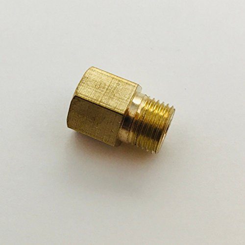 Metric Thread M12 x 1.75 M12X1.75 Male to Barb Hose ID 5//16 or 8mm Brass Air Fuel Gas