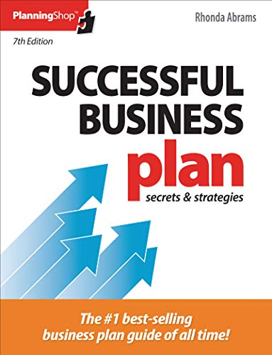 Compare Textbook Prices for Successful Business Plan: Secrets & Strategies 7 Edition ISBN 9781933895826 by Abrams, Rhonda