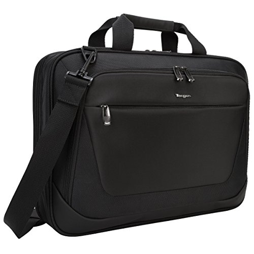 Targus CityLite Laptop Briefcase Shoulder Messenger Bag for 15.6-Inch Laptop, Black (TBT053US)