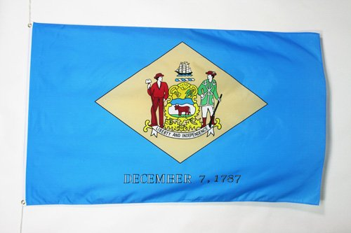 AZ FLAG Drapeau Delaware 90x60cm - Drapeau Etat américain - USA - Etats-Unis 60 x 90 cm - Drapeaux