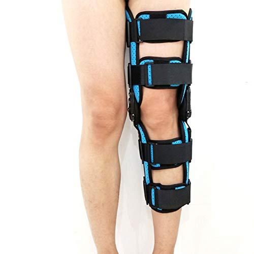 WANGXN scharnierende kniebeugel verstelbare medische open patella ondersteuning stabilisator met vaste ondersteuning met medische kniebeugel