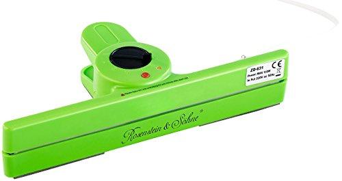 Rosenstein & Söhne Tütenschweissgerät: Folienschweißgerät zum Verschweißen von Folienbeuteln, bis 200 °C (Folienschweisser)