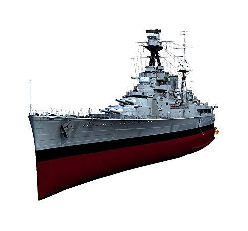 Buque De Guerra Militar Plástico Modelo Juguetes, 1/200 Escala Británica HMS Hood Crucero De Batalla Modelo, Adulto Rompecabezas Juguetes