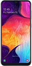 هاتف سامسونج جالاكسي A50 SM-A505 ثنائي الشريحة سعة 128 جيجابايت, ابيض