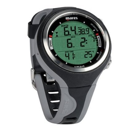 Mares Smart Reloj, Unisex Adulto, Black/Grey, One Size