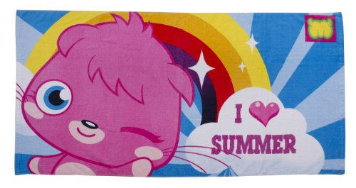 Moshi Monsters Official Poppet Beach/Bath Towel