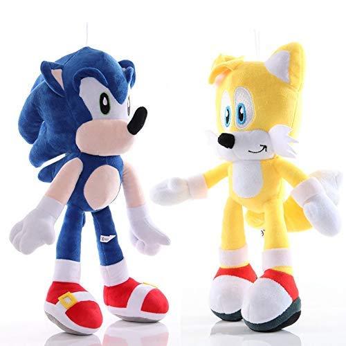 Sonic el Erizo sónico 2pcs calcula el Juguete sonoro/Sombra/The Hedgehog muñeca Sombra Sonic Colas Amy Rose for Niño Animales Juega el Regalo de Plata WTZ012