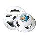 BOSS Audio Systems Marine MR50W 150 Watt Per Pair, 5.25 Inch Full Range, 2 Way, Weatherproof Sold in Pairs (Renewed)