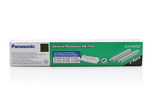 Original Panasonic KX-FA52X TTR (2 Stück) für Panasonic KX-FC 266
