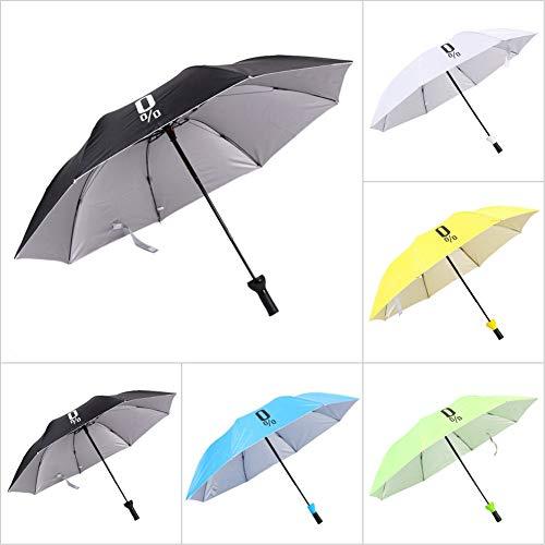 Enchain888 Paraguas Plegable, Botella de Vino Paraguas Plegable UV Sombrilla Paraguas Deporte para Hombres, Mujeres, niños