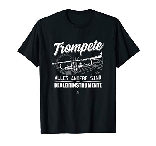 Trompete alles andere sind Begleit Instrumente Musik Noten