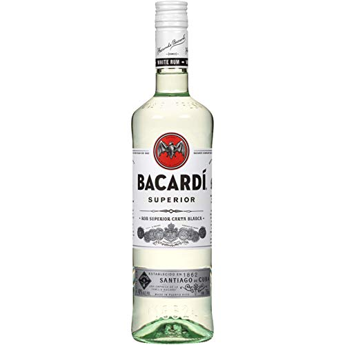 Bacardi Superior Rum, 750 ml, 80 Proof