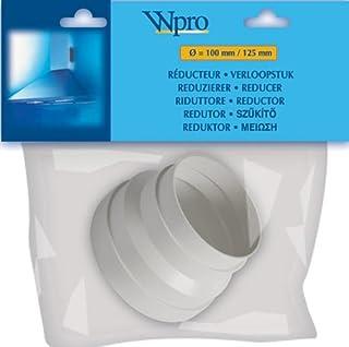 Wpro CHR100 - Adaptador universal para tubo de aire de salida