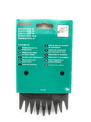Bosch F016800047 Ersatzscherblatt 10 cm für AGS 70/65/10/10-6