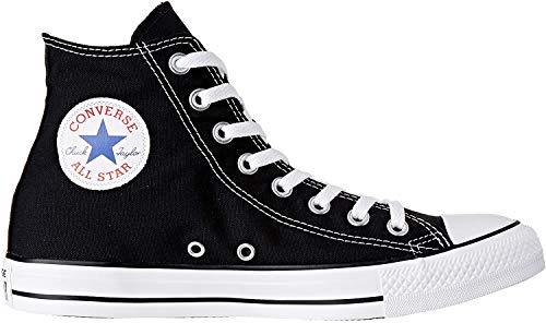 Converse Chuck Taylor All Star High Top Sneaker, Black, 8.5 Women/6.5 Men
