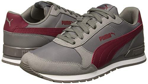 PUMA Unisex-Erwachsene St Runner V2 Nl Sneaker, Grau (Charcoal Gray-Cordovan 15), 44 EU - 5