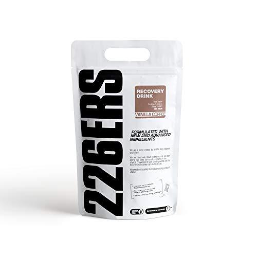 226ERS Recovery Drink, Recuperador Muscular con Proteína Whey, Creatina, Hidratos de Carbono, Triglicéridos y L-Arginina, Vainilla Café - 1000 gr