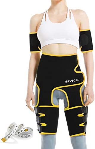 EAVPORT 4 in 1 Waist and Thigh Trimmer Arm Trainer Butt Lifter High Waist Trainer Slimming Sweat product image