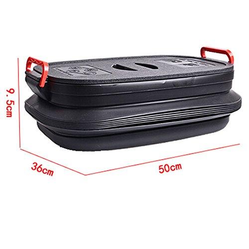 Poubelle de haute qualité pliable et rétractable pour la maison, la voiture - Seau (40 L)