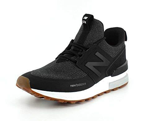 Calzado Deportivo para Hombre, Color Negro, Marca NEW BALANCE, Modelo Calzado Deportivo para Hombre NEW BALANCE MS574 Negro